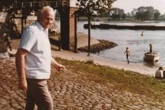 Kurt Matzke 1970 in Schnackenburg an der Elbe.
