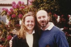 Claudia und Carlos 1986