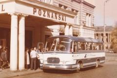 Der Dannenberger Reisebus während einer Tour nach Breslau 1973