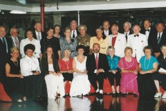 Begleitete Gruppenkreuzfahrt von Claudia und Carlos, Captains Dinner 1986