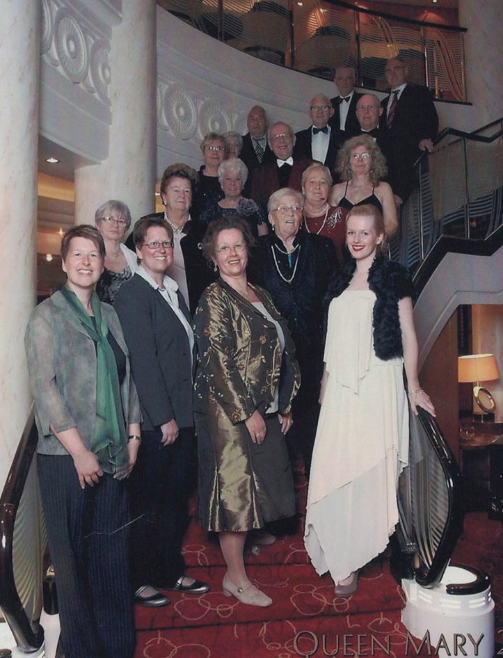 Atlantiküberquerung 2013: Queen Mary 2 New York-Hamburg